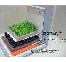 Sarnafil PVC Membrane for Green Roof