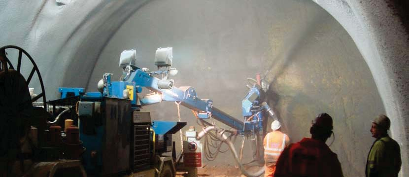 Shotcrete stabilization and lining