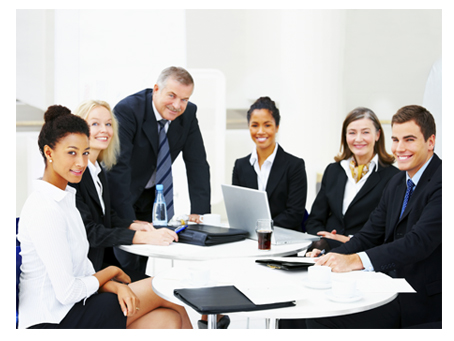 Project Managers in Meeting