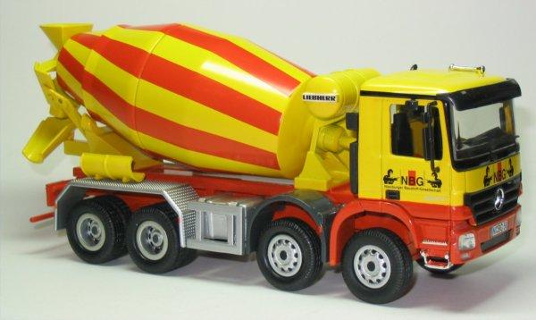 Mixing Concrete using Truck Mixer
