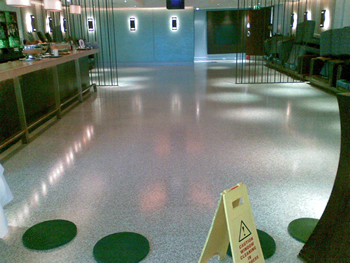 Industrial Floor Maintenance