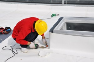 PCV membrane welding