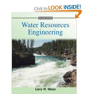 Water Resources Engineering Book
