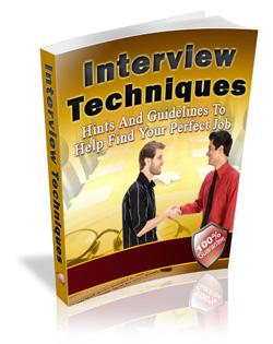 Interview Techniques Book