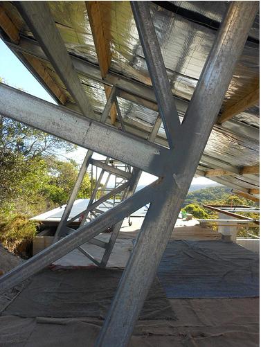 steel beam support