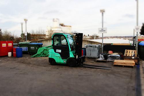 Outdoor Forklift