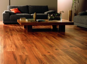 Wooden Floor Decoration