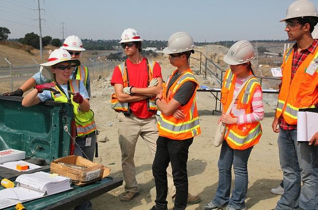 Civil Engineers at work