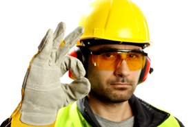 PPE on construction site